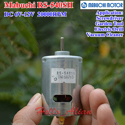 Mabuchi RS-540SH Drill Vacuum Cleaner Tool Motor DC 6V-7.2V 22000RPM High Speed
