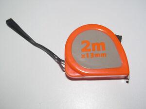 Mètre Ruban Mesure 2m X 13mm Avec Blocage Et Dragonne C6lreded-07165804-936682855