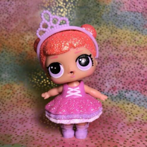 LOL Surprise Doll CENTER STAGE Glitter Series 1 NEW Pageant Girl Crown Tiara