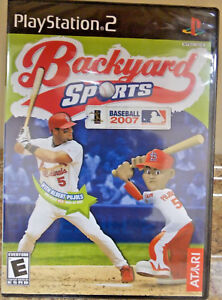 Image Is Loading Backyard Sports Baseball 2007 Sony PlayStation 2 2006