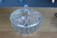 thumbnail 1 - KIG Indonesia Vintage Clear Glass Covered Dish