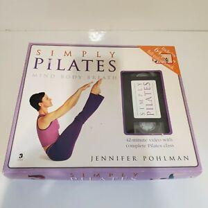 Simply Pilates Jennifer Pohlman Mind Body Breath VHS