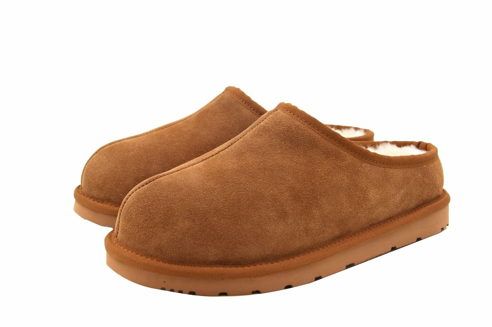 SUPERLAMB LADIES SHEEPSKIN HARD SOLE CLOG SLIPPERS