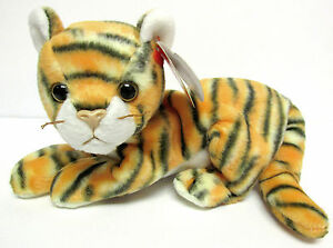 Ty 2000 Beanie Baby INDIA Bengal Tiger PRISTINE Clean   Brand New w ... 274fb84d7e4