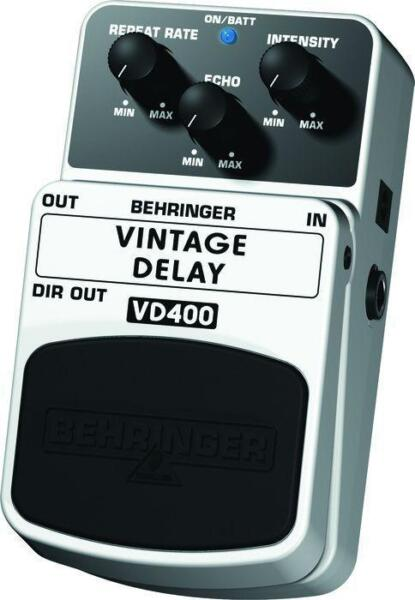 behringer vintage delay vd400 delay guitar effect pedal for sale online ebay. Black Bedroom Furniture Sets. Home Design Ideas