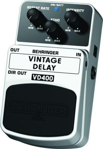 Guitar Effects Pedals For Sale Uk : behringer vintage delay vd400 delay guitar effect pedal for sale online ebay ~ Russianpoet.info Haus und Dekorationen