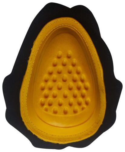 Auklet Coppia saponette per Moto Giallo