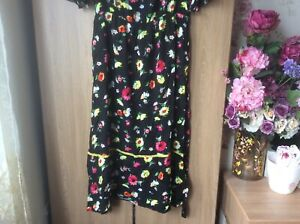 Gorgeous-Warehouse-floral-dress-size-16-New-with-tags