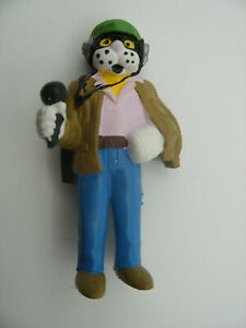 Figurine-Vintage-1983-PVC-SCHLEICH-W-GERMANY-Rare-FR3-TELECHAT-Telegato-GROUCHAT
