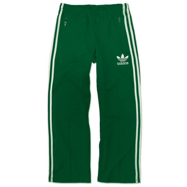 adidas Europe Beckenbauer Trackpants Men s Young Trackies Green XXS ... 94c1a4bc3