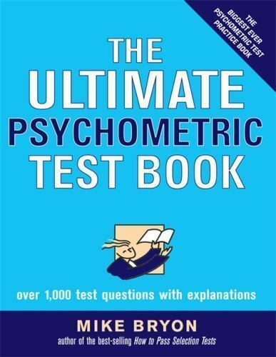 Ultimate Psychometric Test Book   Over 1 000 Test Questions With Explanations