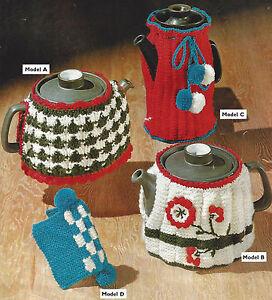 TEA-COSIES-COFFEE-POT-COVER-amp-TEA-POT-HOLDER-KNITTING-PATTERN-469