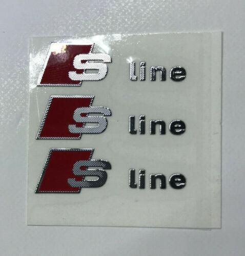 PEGATINA PARA AUDI S LINE A1,A3,A4,A5,A6,A7,A8,Q3,Q5,Q7,TT....