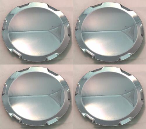 NEW 2010-2013 GMC TERRAIN Aftermarket Chrome Wheel Center Hub Cap SET