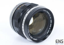 Canon FL 58mm f/1.2 standard prime lens **READ** 52435