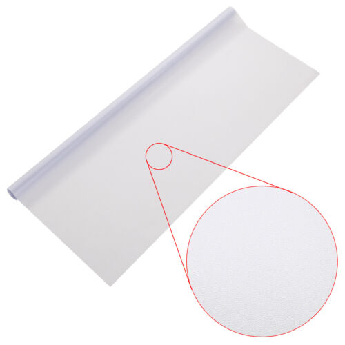 Fensterfolie Statische Sichtschutzfolie Milchglasfolie Glasdekorfolie 1//2Meter