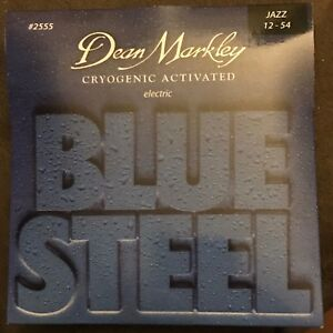 dean markley 2555 blue steel electric guitar strings jazz ebay. Black Bedroom Furniture Sets. Home Design Ideas