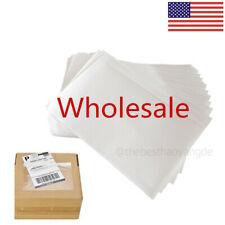 100 1000 Clear Adhesive Packing List Shipping Label Envelopes Pouches 75 X 55