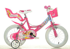 14 zoll kinderfahrrad princess original lizenz kinderrad. Black Bedroom Furniture Sets. Home Design Ideas
