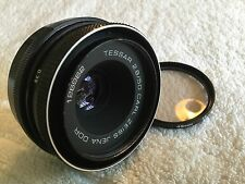 CARL ZEISS JENA DDR 50mm 1:2.8 PRIME LENS PENTAX M42 MOUNT for SPARES/ REPAIR
