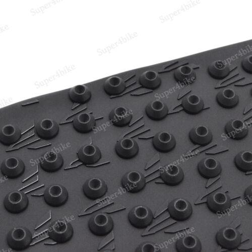 Motorbike Black Anti Slip Tank Side Pad Sticker For For Aprilia RSV4 2010-2017