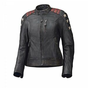 New Held Leather Jacket Redblack About Ladies Laxy Details Motorcycle wkPn0O