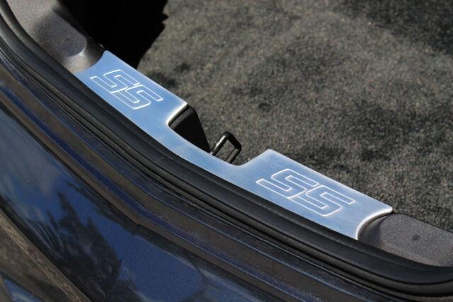 2010-2014 Chevrolet Camaro Billet Trunk Latch Trim SS Logo Satin