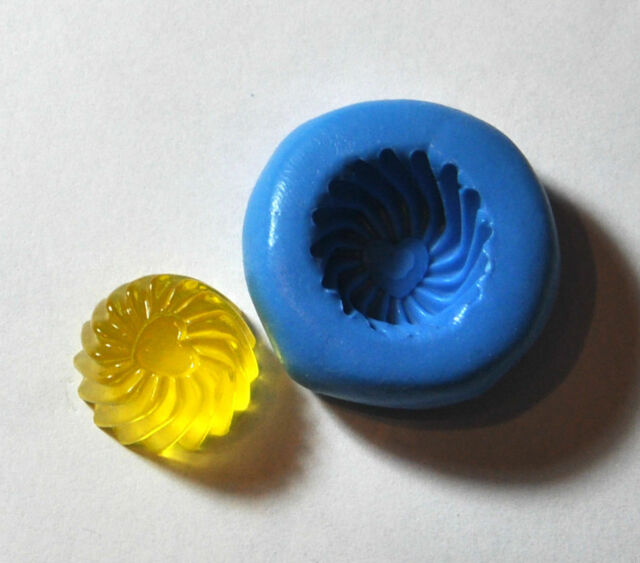 Sweet Jelly candy Flexible Silicone Push Mold mould Polymer clay Resin Miniature