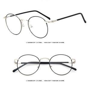 7873d6bcfcb Thin Rim Round Fashion Metal Vintage Men Women Optical EYEGLASSES ...
