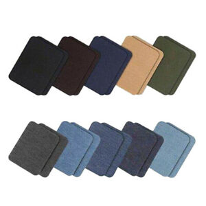 20-x-Buegelflicken-Flicken-zum-Aufbuegeln-Buegeln-Stoffflicken-Jeansstoff-Patches