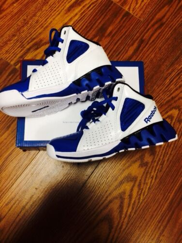 "New Kids Zigtech/""Zigkick Hoops/"" Basketball Shoes Blue White Black V53041"