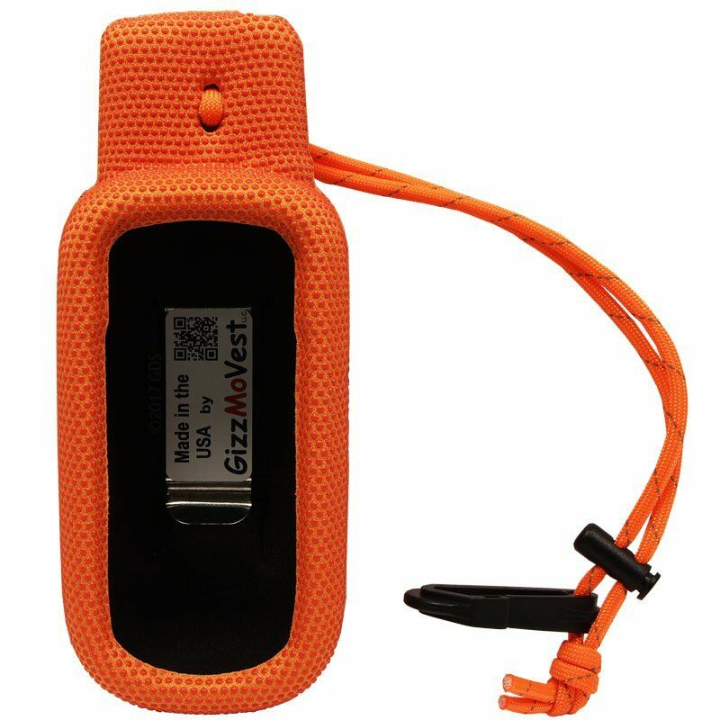 Extremely Tough Garmin Alpha 100 Orange GizzMoVest Field Case