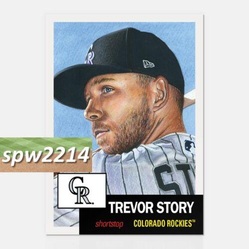 Topps Living Set Trevor Story #84