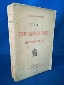 Cartina Politica Italia Zanichelli.Zanichelli Studi Di Storia Costituzionale E Politica Del Risorgimento Italiano Ebay