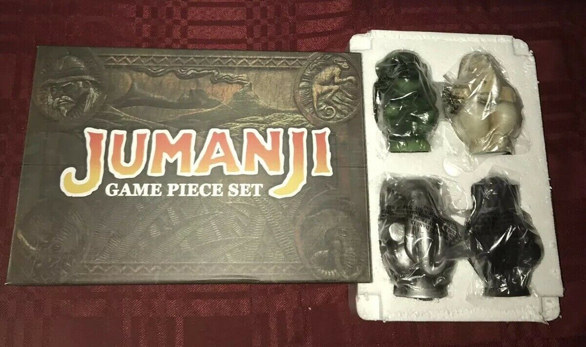 Jumanji Board Game Piece Statue Set NEW