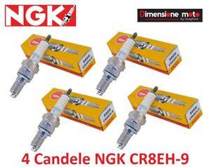 5666-4-Candele-NGK-CR8EH-9-per-HONDA-CB-F-919-Hornet-dal-2002-gt-2007