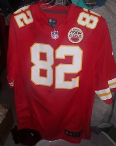6a1c65dab29 NFL Nike Kansas City Chiefs Football Dwayne Bowe #82 Red Game Jersey ...