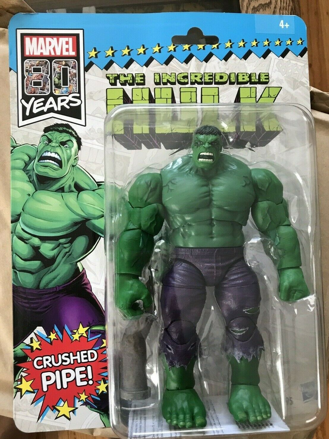 Hulk 6-inch Action Figures Marvel Legends 80th Anniversaire Wolverine Scellé