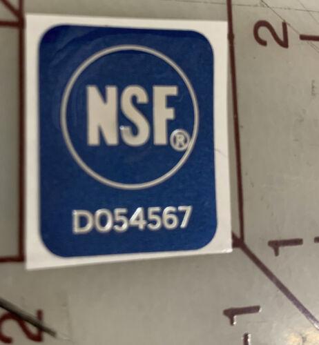 5X NSF STICKER DECAL RESTAURANTS NATIONAL SANITATION FOUNDATION HOLOGRAM GENUINE