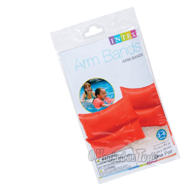 Intex 58642EP Deluxe Arm Bands-Inflatable Water Wing Training Aids Kids Swim