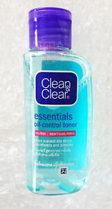 Details about Clean and Clear Essentials Oil Control Toner Oil-Free Prevent  Oily Shine 50ml