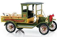 Franklin Mint 1913 Ford Model T Xmas Truck Limited Edition 2500pcs Diecast 1:16