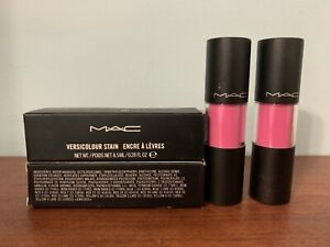 2-x-New-MAC-Versicolour-Lip-Stain-CONSTANT-CRAVING-8-5ML-0-28OZ-F-S