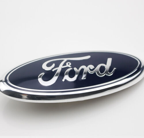 Color:Blue:1Pcs 7/9 inch 2005-2014 Ford F150 F250 F350 Rear GRILLE/ TAILGATE Oval Emblem #5