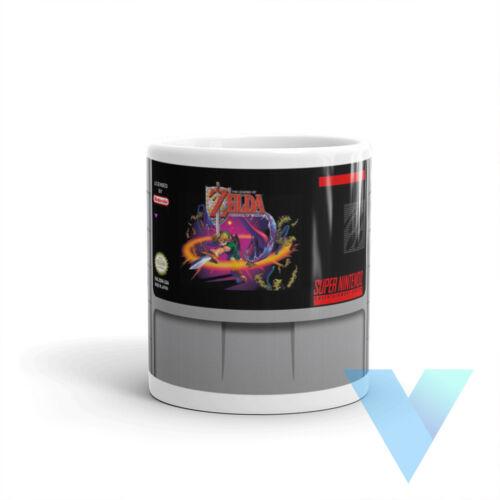 Zelda Goddess of Wisdom SNES Video Game Mug Fun Novelty Fathers Day Gift Retro