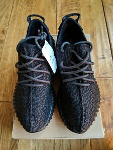 Kanye West Yeezy Boost 350 V1 Pirate Black BB5350 New With Tags UK8 ... 13cf8cbe3a