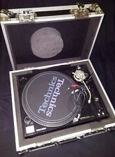 Two Technics SL-1210 M5G with Cases. Professional Grand Master DJ Turntables