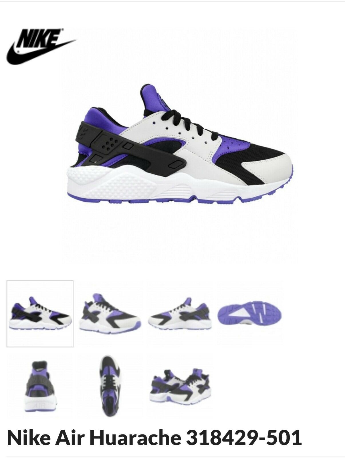 Nike Huarache Persian lila NEU OVP Gr 44