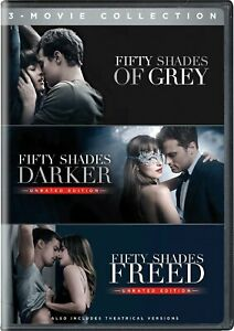 Fifty Shades Of Grey 3 Dvd