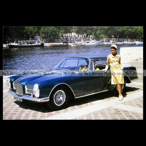 #pha.023558 Photo FACEL VEGA FACEL II 1962-1964 Car Auto
